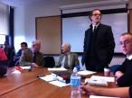 with Francois Ewald, Gary Becker, Bernard Harcourt